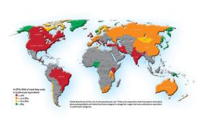 EPA DHA map